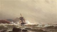 treacherous seas by mauritz frederick hendrick de haas