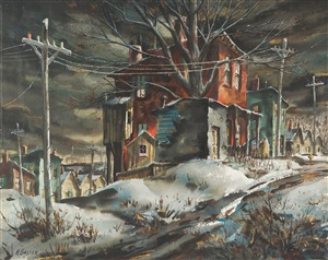 the old red house by henry martin gasser