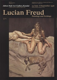 lot: 207 pluto and the bateman sisters by lucian freud