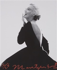 marilyn: dior dress (iii) by bert stern