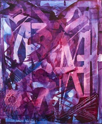 ses purple and blue by retna
