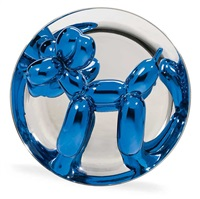 balloon dog (blue) by jeff koons