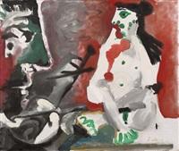 peintre et modèle by pablo picasso