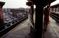usa. new york city. 1980. subway by bruce davidson