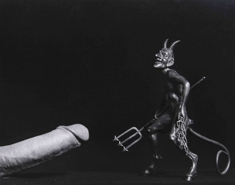 cock and devil by robert mapplethorpe