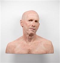 self portrait, variation #2 by evan penny