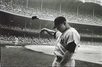 mickey mantle having a bad day at yankee stadium by john dominis