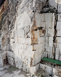carrara marble quarries #12 by edward burtynsky