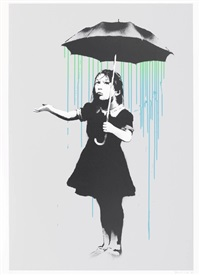 nola artists proof blue/green by banksy