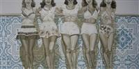 five pretty ladies by jhina alvarado