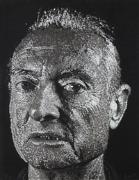 roy by chuck close