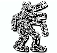 artwork by keith haring