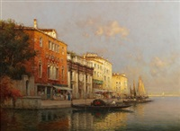 venetian traders by antoine bouvard