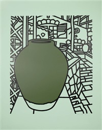 jar (green) by patrick caulfield