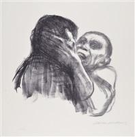 death recognized as a friend by käthe kollwitz