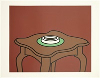 occasional table by patrick caulfield