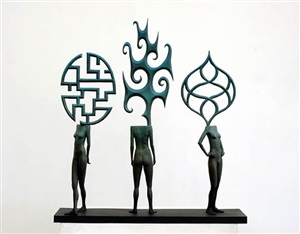 three sisters by john buck
