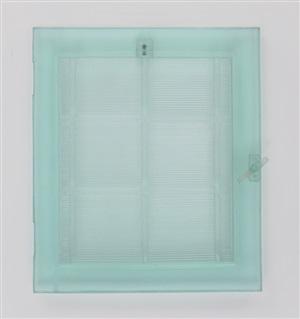 window turquoise by lisa bartleson