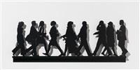 city walkers #1 by julian opie