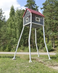 untitled ii (house on legs) by joachim brohm