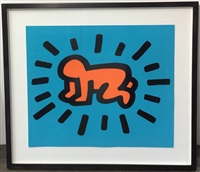 radiant baby (icons series) by keith haring