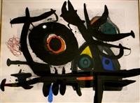 l'oiseau destructeur by joan miró