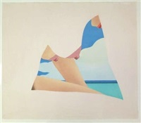 seascape dropout by tom wesselmann