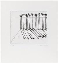 palms by wayne thiebaud