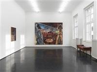 café deutschland, installationsansicht / installation view by jörg immendorff