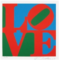 the american dream i by robert indiana