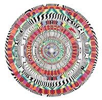 mundillo (wallpaper mandala) by dzine