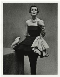 jackie stoloff wearing paris fashions, paris, france by gordon parks