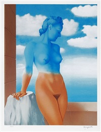 la magie noir (black magic) by rené magritte