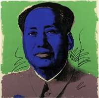 mao (fs ii.90) by andy warhol