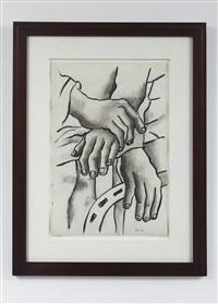 dessin aux mains by fernand léger