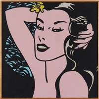 roy lichtenstein- little aloha 1962 by richard pettibone