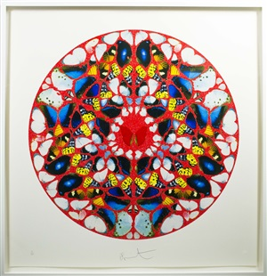 domine by damien hirst