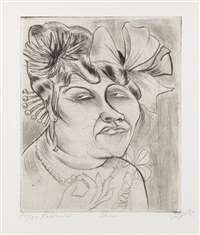 dame by otto dix
