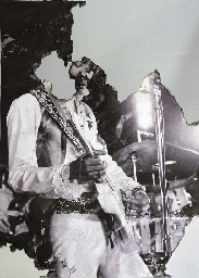 self portrait of you and me (jimi hendrix), for michael clark by douglas gordon