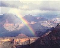 south rim rainbow, arizona by christopher burkett