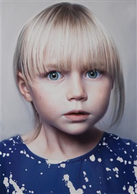 child 2 (ruth) by gottfried helnwein