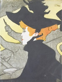 lot 163: book by henri de toulouse-lautrec