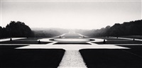 axial panorama, sceaux, france, 1990 by michael kenna
