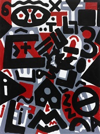 perspektive (perspective) by a.r. penck