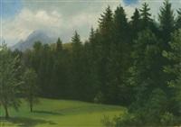 mountain resort - estes park, colorado by albert bierstadt