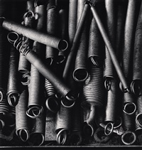 lace factories, study 17, calais, france, 1997 by michael kenna