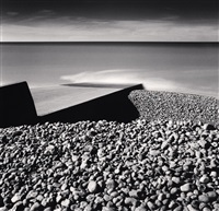pebble beach, ault, picardy, france, 2009 by michael kenna
