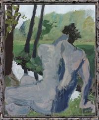 narciss by markus lüpertz