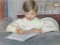 the drawing lesson by paul césar helleu