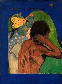 nègreries martinique by paul gauguin